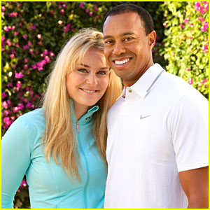 Tiger Woods & Lindse