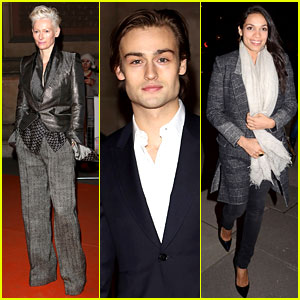 Tilda Swinton & Douglas Booth: David Bowie Exhibit!