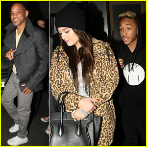 Will Smith: London Dinner with Jaden and Kylie Jenner!