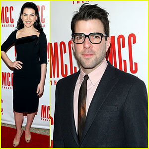 Zachary Quinto &#038; Julianna Margulies: MCC's Miscast 2013!