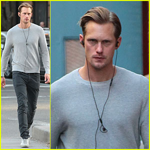 Alexander Skarsgard: 'Kelly & Michael' Interview - Watch Now!