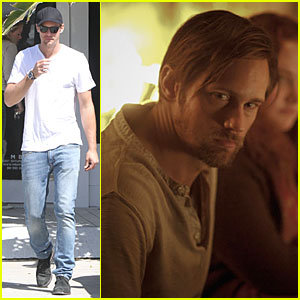 Alexander Skarsgard: Swedish Singing Hunk!