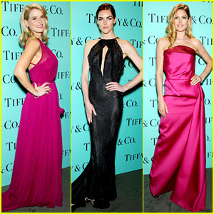 Alice Eve & Doutzen Kroes: Tiffany Blue Book Gala!