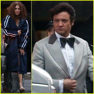 Amy Adams & Jeremy Renner: 'Abscam' Party Scenes!