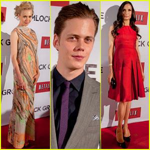 Bill Skarsgard & Penelope Mitchell: 'Hemlock Grove' Mexico Premiere!