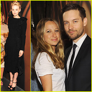Carey Mulligan & Tobey Maguire: Gatsby Exhibition Opening Cocktail Party!