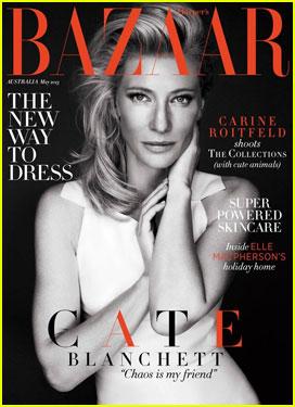 Cate Blanchett Covers 'Harper's Bazaar Australia' Magazine May 2013