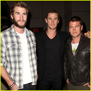 Chris & Liam Hemsworth: City Year Los Angeles Fundraiser 2013