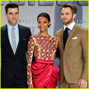 Chris Pine & Zoe Saldana: 'Star Trek Into Darkness' in Berlin!
