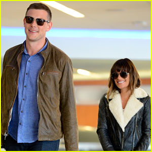 Cory Monteith: First Post-Rehab Pics with Lea Michele!