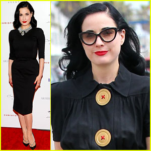 Dita Von Teese: BritWeek Design Award Presentation!