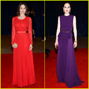 Emily Mortimer & Michelle Dockery - White House Correspondents' Dinner 2013