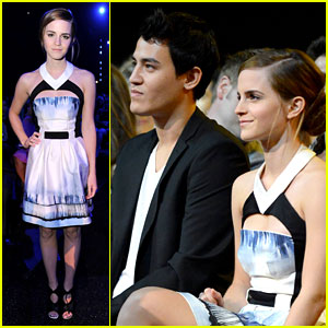 Emma Watson Brings Will Adamowicz to MTV Movie Awards 2013!