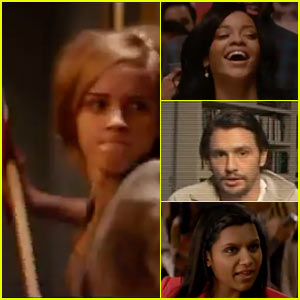 Emma Watson Wields Ax, Rihanna Parties in 'This is the End' Trailer!