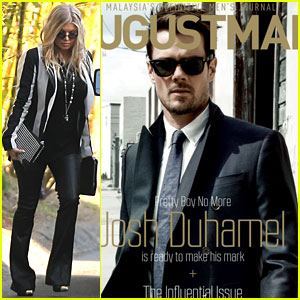 Pregnant Fergie & Josh Duhamel: Separate Outings in L.A.!