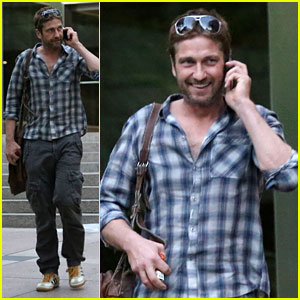 Gerard Butler Talks North Korea & 'Olympus Has Fallen'