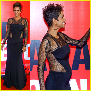 Halle Berry Flaunts Baby Bump at 'The Call' Rio Premiere!