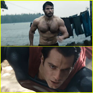 : Shirtless 'Man of Steel' Trailer! | Henry Cavill, Man of Steel