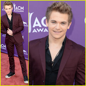 Hunter Hayes - ACM Awards 2013 Red Carpet