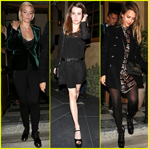 Jaime King: Birthday Celebration with Jessica Alba & Emma Roberts!
