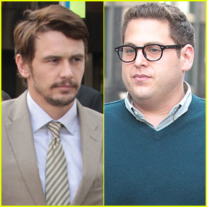 James Franco & Jonah Hill: 'True Story' Set!