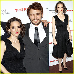 James Franco & Winona Ryder: 'The Iceman' New York Screening!