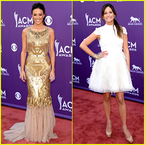 Jana Kramer & Kacey Musgraves - ACM Awards 2013