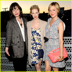 January Jones & Milla Jovovich: Coach's Charity Evening!