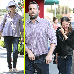 Jennifer Garner & Ben Affleck: Hollywood Dinner Date!