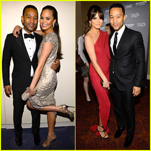 John Legend & Chrissy Teigen - White House Correspondents' Dinner 2013