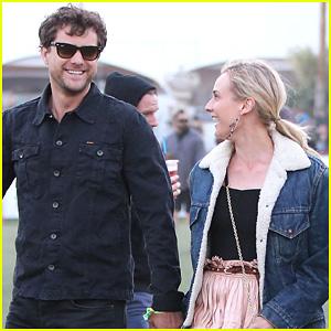 Joshua Jackson & Diane Kruger: Coachella Twosome!