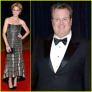 Julie Bowen & Eric Stonestreet - White House Correspondents' Dinner 2013