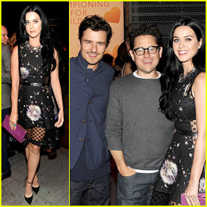 Katy Perry & Orlando Bloom: Coach's Charity Evening!