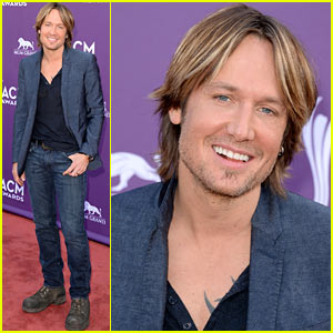 Keith Urban - ACM Awards 2013 Red Carpet