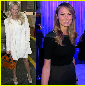 Kristin Chenoweth & Stacy Keibler: Lexus Design Event!