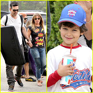 LeAnn Rimes & Eddie Cibrian: Jake's Pre-Party Baseball Game!