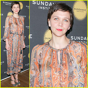 Maggie Gyllenhaal: Sundance Theatre Program Benefit Performer!