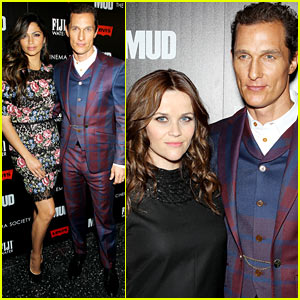 Matthew McConaughey: 'Mud' Screening with Camila Alves!