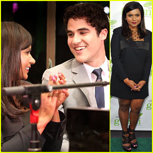 Mindy Kaling & Darren Criss: Verte Grades of Green Fundraiser!