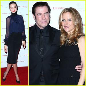 Miranda Kerr & John Travolta: Qantas Gala Dinner!