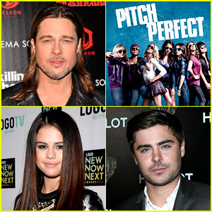 Rebel Wilson on Pitch Perfect  Rebel Wilson  Selena Gomez  Zac Efron   Just Jared