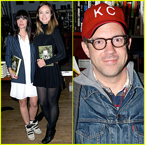 Olivia Wilde & Jason Sudeikis: 'Everything Is Perfect...' Book Launch!