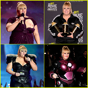 Rebel Wilson - MTV Movie Awards 2013 Recap