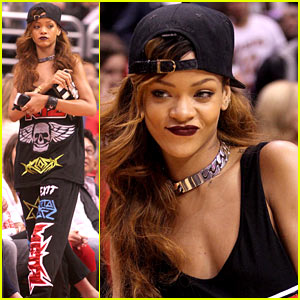 Rihanna: Let's Go Lakers!
