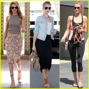 Rosie Huntington-Whiteley: Busy California Gal!
