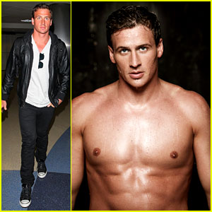 Ryan Lochte: Shirtless 'Cosmopolitan' Feature!