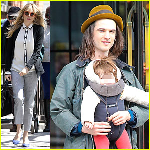 Sienna Miller: Tom Sturridge Feels Home in New York!
