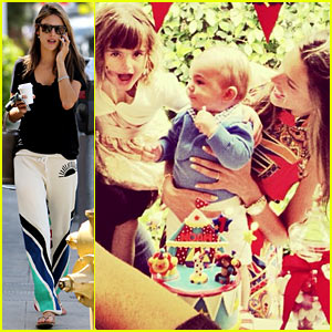 Alessandra Ambrosio: Happy First Birthday, Noah!