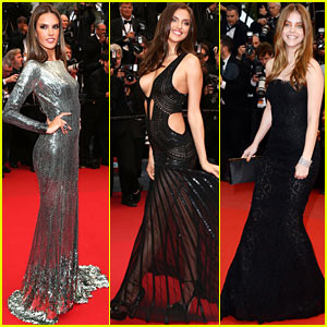 Alessandra Ambrosio & Irina Shayk: 'All is Lost' Cannes Premiere
