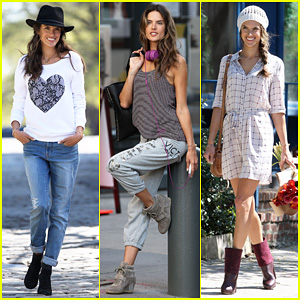 Alessandra Ambrosio: New York Photo Shoot!